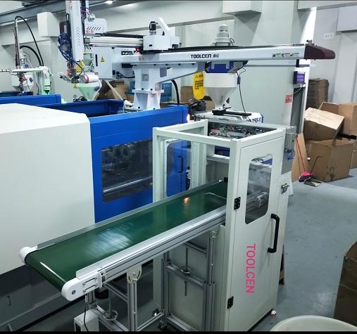 顶入式贴标系统工装治具