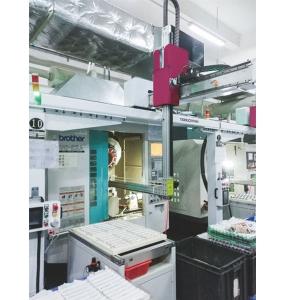 CNC加工中心上下料机械手